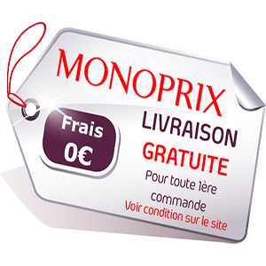 - redirection automatiquement vers Monoprix -