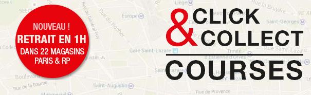 Click Collect Courses avec Monoprix.fr