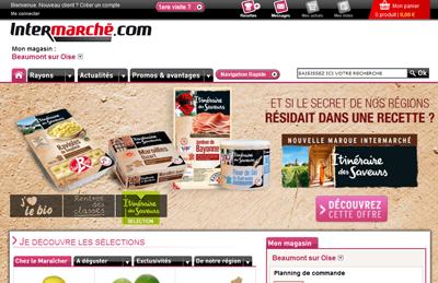 intermarch le site e commerce des mousquetaires se dote d 39 une nouvelle version. Black Bedroom Furniture Sets. Home Design Ideas