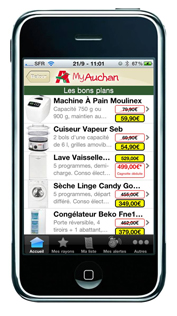 application iphone myauchan