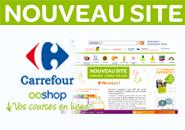 Carrefour Ooshop lance un nouveau site Internet