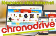 Nouveau site Chronodrive - une vraie réussite